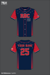 RBC Full Button Baseball Jersey - kyxkAn