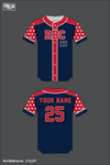 RBC Full Button Baseball Jersey - uDBgRR