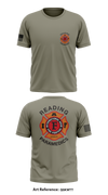 Reading Fire Department Paramedics Store 1 Short Sleeve Hybrid Performance Shirt - Q5KWtT