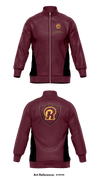 Richmond wrestling club Track Jacket - EcWp2m