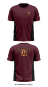 Richmond wrestling club Short-Sleeve Performance Shirt - aeyKfc