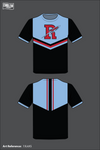 Ridgedale Rockets Short Sleeve Rash Guard - 7JUcKS