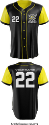Riverview Raiders Full Button Baseball Jersey - sGJqYX
