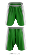 Irish DYA Travel Basketball Reversible Shorts - yCP95Z & 9LzKHC
