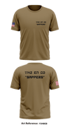 "1142 EN CO ""Sappers"" Store 1 - Short-Sleeve Performance Shirt - f2HbEB"