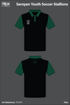 Saroyan Youth Soccer Stallions Polo - PPxP9T