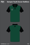 Saroyan Youth Soccer Stallions Polo - tzZg9T