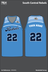 South Central Rebels Men's Basketball Jersey - VR94WQ