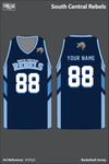 South Central Rebels Men's Basketball Jersey - bF8TgG