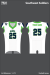 Southwest Soldiers Football Jersey - 7snfPB