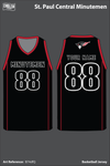 St Paul Central Women's Basketball Jersey - B74dfQ