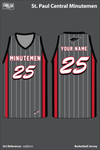 St Paul Central Women's Basketball Jersey - eqBbzm