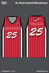 St Paul Central Women's Basketball Jersey - qYqttm