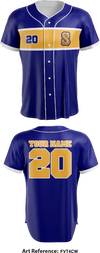 Stods Full Button Baseball Jersey - FvT4cW