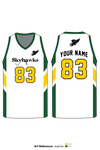 Strathclair Skyhawks Men's Basketball Jersey - avprGa