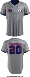 Summit Baseball Full Button Baseball Jersey - PFFVm2