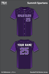 Summit Spartans Full Button Baseball Jersey - y3Ppnc