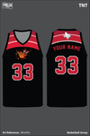AAU Dynamite Men's Reversible Basketball Jersey - 9Km5Hc