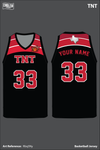 AAU Dynamite Men's Reversible Basketball Jersey - Rbq5Ny & P9ncxR