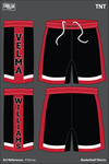 AAU Dynamite Men's Reversible Basketball Shorts - 4Ydmax & cCjaFN