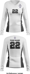 Tempo Volleyball Club Women's Long Sleeve Volleyball Jersey - 7aEdMQ