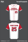 Terrell Fastpitch Full Button Baseball Jersey - XxmsVM