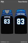 Texas Xtreme Men's Basketball Jersey - L6H5FJ