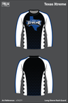 Texas Xtreme Long Sleeve Rash Guard - n7hCFY