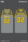 The Warriors Women's Basketball Jersey - AbMNXS