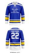 Theta Alpha chapter of Tau Beta Sigma Store 1 - Hockey Jersey - LM8tst