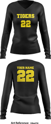 Tigers Store 2 Women's Long Sleeve Volleyball Jersey - VHjjy4