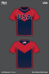 Team USA Performance Shirt - 96bqux