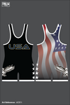 James Ortega Men's Singlet - black_and_white-01