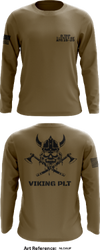 VIKING PLT. Store 1 - Long-Sleeve Performance Shirt - nLdauf