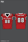 WEST COLUMBIA TIGERS Football Jersey - 4LsEAM