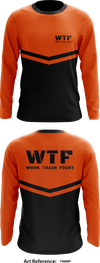 Work Train Fight WTF Store 1 - Long-Sleeve Performance Shirt - y369Bp