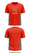 Walnut Ridge Wrestling Short Sleeve Rash Guard - bGNxHR