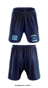 Warhill HS Lacrosse Team Store 1 Athletic Shorts with pockets - kBmQ6D