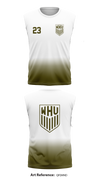 West Houston United Sleeveless Compression Shirt - qFeMnd