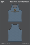 West Point Marathon Team Men's Track Singlet - HXGxNV