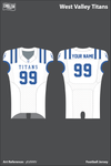 West Valley Titans Football Jersey - yEd9MV