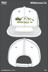 Wilderness Co Mesh Back Snapback - XvLPbz