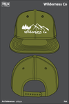 Wilderness Co Mesh Back Snapback - sy8gqa