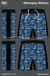 Wilmington Wildcats Basketball Shorts - RzNhdR