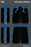 Wilmington Wildcats Basketball Shorts - xavjke