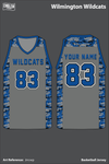 Wilmington Wildcats Basketball Jersey - Jrrcwp