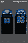 Wilmington Wildcats Basketball Jersey - u37bX9