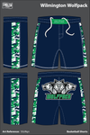 Wilmington Wolfpack Basketball Shorts - 5SURqn