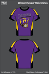 Winter Haven Wolverines Short-Sleeve Performance Shirt - zYThRr