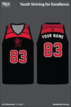 Youth Striving for Excellence Basketball Jersey - b79qd4